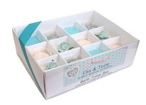 Gin And Tonic With A Squeeze Of Lemon Bath Treat Box